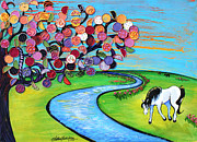 Shelley Overton - Horse and the Stream