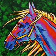 Christine Karron Metal Prints - Horse Metal Print by Christine Karron