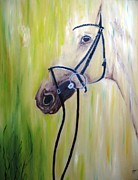 Landscape-like Art Paintings - Horse by Doris Cohen