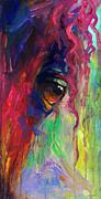 Horse Eye Portrait  Print by Svetlana Novikova