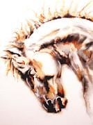 Juan Jose Espinoza - Horse I White
