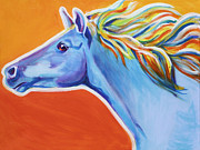 Dawgart Painting Originals - Horse - Like The Wind by Alicia VanNoy Call