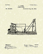 Power Drawings - Horse Power 1893 Patent Art by Prior Art Design