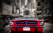 Ford Mustang Prints - Horse Power Print by Mark Rogan