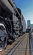 Railroad Companies Prints - Horse Power Print by Skip Willits