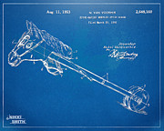 18th Century Digital Art - Horse Toy Patent Artwork 1953 by Nikki Marie Smith