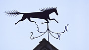 Weathervane Photos - Horse Weathervane by Alan L Graham