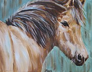 Whisper Paintings - Horse Whisper by Kathy Stiber