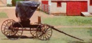 Rural Digital Art - Horseless Carriage by Jeff Kolker