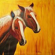 Horses Print by Anastasis  Anastasi