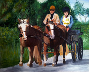  Horses And Carriage - Elizabeth Edwards 