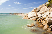 Tim Hester Prints - Horseshoe Bay South Australia Print by Tim Hester