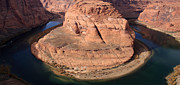Colorado Photography Photos - Horseshoe Bend - Arizona by Aidan Moran