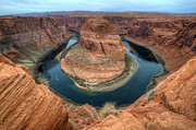 Colorado Travel Prints - Horseshoe Bend Arizona Print by Bob Christopher