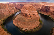 Ron Pettitt Prints - Horseshoe Bend Print by Ron Pettitt