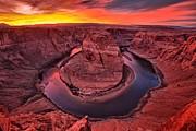 Adam Jewell - Horseshoe Bend Sunset