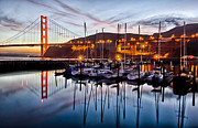 Sausalito Prints - Horseshoe Cove Print by Robert Rus