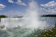 Featured Framed Prints - Horseshoe Falls, Niagara Falls Framed Print by Peter Mintz