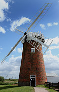 Paul Lilley Metal Prints - Horsey Windpump Metal Print by Paul Lilley