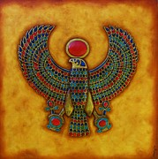 Tut Mixed Media - Horus by Joseph Sonday