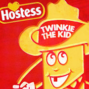 Junk Mixed Media Posters - Hostess Twinkie The Kid Poster by Tony Rubino