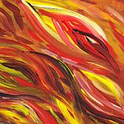 Irina Sztukowski - Hot Abstract Flames