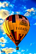 Arizonia Photos - Hot Air Ballon Farmers Insurance by Robert Bales