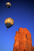 Hot Air Balloon Framed Prints - Hot Air Balloon 3 Framed Print by Bob Christopher