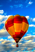 Wicker Basket Prints - Hot Air Balloon at Colorado River Crossing Print by Robert Bales