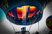 Metamora Art - Hot Air Balloon Flare by Grace Grogan