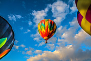 Propane Photos - Hot Air Balloon Framed by Robert Bales