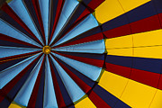 Hot Color Prints - Hot air balloon graphic Print by Garry Gay
