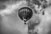 Hot Air Balloon Framed Prints - Hot Air Balloon OW 1 Framed Print by David Haskett