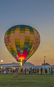 Indianapolis Art - Hot Air Balloon OW 9 by David Haskett