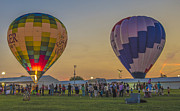 Indianapolis Art - Hot Air Balloons 14 by David Haskett