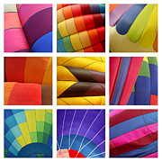 Paula Prints - Hot Air Balloons Print by Art Blocks