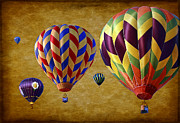 Balloons Art - Hot Air by Marcia Colelli