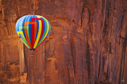 Southern Utah Prints - Hot Air Sandstone  Print by Peter Coskun