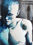 Alternative Painting Originals - Hot Child In the City by Rene Capone
