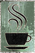 Hot Coffee Print by David G Paul