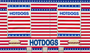 Ketchup Framed Prints - Hot Dog Stand Framed Print by Hans Engbers