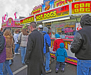 Hot Dogs Art - Hot Dogs - Cold Day by Ann Horn