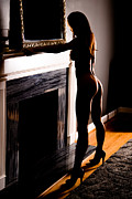Abdomen Photos - Hot Fireplace Setting by Jt PhotoDesign
