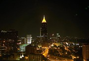 Atlanta Originals - Hot lanta at night by Issiah Ross