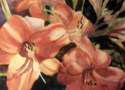 Todd Derr Prints - Hot Lily Print by Todd Derr