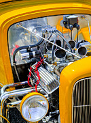 Mechanical Photos - Hot Rod by Bill  Wakeley