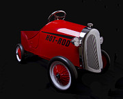 Bryan Freeman Metal Prints - Hot Rod Metal Print by Bryan Freeman