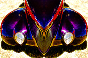 Aotearoa Metal Prints - Hot Rod Eyes Metal Print by motography aka Phil Clark
