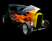 Custom Automobile Digital Art Posters - Hot Rod Poster by Victor Montgomery