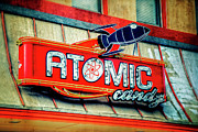 Atomic Prints - Hot Stuff Print by Joan Carroll